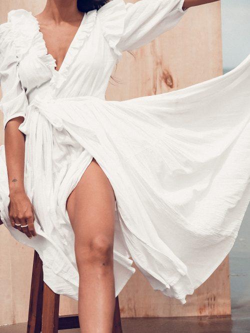 SAYANG DRESS WHITE